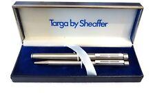 SHEAFFER TARGA 1001 SET OF FOUNTAIN PEN & BALLPOINT - NOS IN BOX