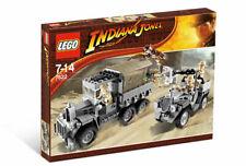 Brand New Lego Indiana Jones 7622 Race for the Stolen Treasure Exclusive Germans