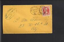 NEW YORK G, NEW YORK 1878 ADVT OVAL JAS R. WATERLOW, REAL ESTATE. VF+