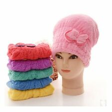 Wash Tool Elastic Band Dry Hair Hats Bathing Wrapped Towel Shower Cap
