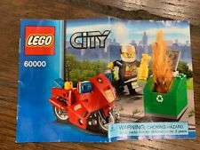Lego Fire Motorcycle (60000)
