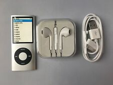 Apple Ipod Nano 4th Generation Silver 8GB new