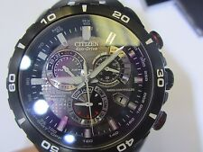 CITIZEN ECO-DRIVER MEN'S WATCH CHRONO ALL S/S  ORIGINAL JAPAN AT4008-51E NEW