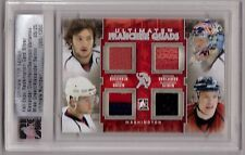 OVECHKIN VARLAMOV MIKE GREEN SEMIN /11 ITG Ultimate # /25 Franchise Quads Jersey