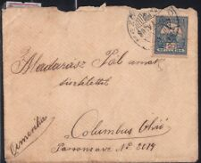 HUNGARY 1907 COVER to USA @D4980