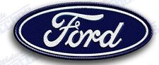 """FORD  AUTO CAR  iron on embroidery patch 3.4"""" X 1.6""""   F150 SUV TRUCK MUSTANG"""