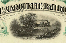 The Flint and Pere Marquette Railroad Company share Eisenbahn hist Aktie 188 USA