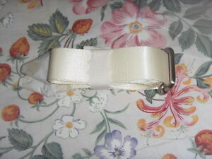 Brand New White Bag Strap for cheap sale *Free Postage