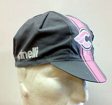 Cinelli Vigarosa Cycling Cap in Gray/Pink