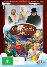 Christmas Carol Double Pack NEW R4 DVD