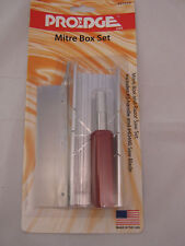 Mitre Box & Razor Saw Set  model craft  Pro Edge #55320 tool miter
