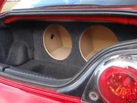 MAZDA RX8 - Custom Sub Box Subwoofer Enclosure RX-8 - Concept Enclosures
