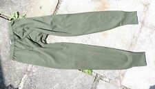BRITISH ARMY THERMAL LONG JOHNS DRAWERS TROUSERS UNDERWEAR IN OLIVE GREEN
