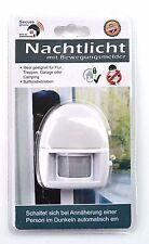 Batterie Nachtlicht Notlicht mit Bewegungsmelder Sensor Lampe 5m Reichweite
