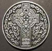 Premium Irish Cross Irish Blessing Golf Ball Marker