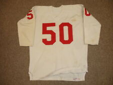 1960-1962 St Louis Cardinals Game Used NFL Football Durene Jersey #50
