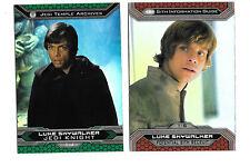 2015 Topps Star Wars Chrome JEDI VS SITH COMPLETE MASTER SET 258 CARDS!!