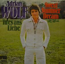 """ADRIAN WOLF - TU ES AUS LIEBE - SWEET SUMMER DREAM - Single 7"""" ( I 485)"""
