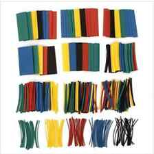410pcs 2:1 poliolefina halógeno-free heat shrink Tube sleeving 5 color 10 size