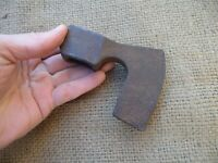 SMALL VINTAGE  AXE HEAD BUSHCRAFT WOODCRAFT HATCHET TACTICAL HAND FORGED