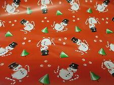 feuille papier cadeau Noël neuf  100 cm x 2 mètres