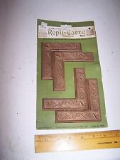 1970 Original Furniture Decorative TRIM Molding Parts Pieces - Corner - #23
