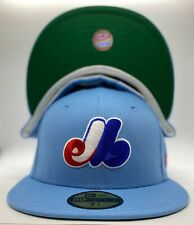 Montreal Expos Custom New Era '82 All-Star Game Patch 59Fifty Polyester Green UV