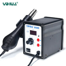 Yihua 858D 220V Hot Air SMD Rework Station Heat Gun SMT Soldering iron Welding