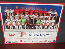 New England Revolution 1998 Team Picture-12X16