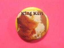 KING KURT VINTAGE BADGE BUTTON UK IMPORT ROCKABILLY PUNK