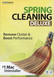 Spring Cleaning Deluxe #1 Mac Uninstaller OS 10.4 10.5 10.6