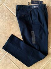 Polo Ralph Lauren Pleat Front Chino Pants Men's 46B x 34 Navy Classic Fit NWT
