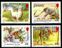 JERSEY 2010 EUROPA CHILDRENS BOOKS SET OF ALL 4 COMMEMORATIVE STAMPS MNH