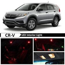 14x Red LED Lights Interior Package Kit for 2015-2017 Honda CRV CR-V