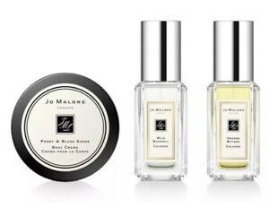 NEW Jo Malone 3 piece Cologne & body cream travel size gift set IN BAG