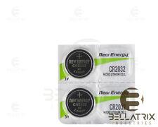 2 New Energy Size Cr2032 2032 Lithium Batteries 3 Volt U.S. Ship