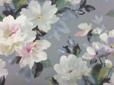 Grey Floral 100% Cotton by the half metre
