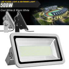 New listing 500W Led Flood Light Cool/Warm White Landscape Security Outdoor Lamp Lighting
