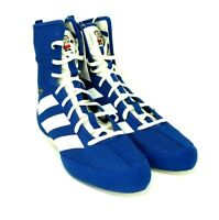 Adidas Men's Boxing Box Hog 3 Shoes Blue White Japan Flag EG5170 Size 8 , 11