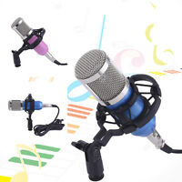 Pitch Pro Audio BM800 BM700 BM100 Condenser Microphone Dynamic Mic + Shock Mount