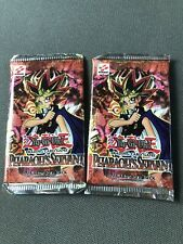 2x Yu-Gi-Oh Pharaoh's Servant Unlimited Booster PACK Box-Fresh English Edition