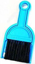 Mini Broom Dustpan Blue Car Cleaning Surface Universal Tool Brush Keyboard Home