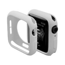 Ultra Thin Soft Tpu Silicone Case Cover For 44mm iWatch Series 4/5/6 - White
