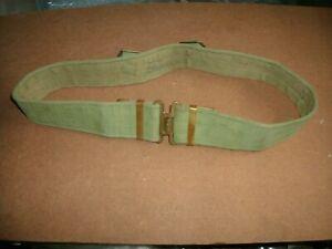37 pattern webbing belt max 36 inch waist Post War