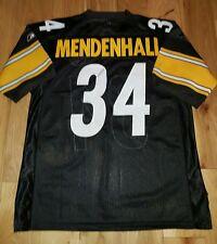 Rashard Mendenhall #34 Pittsburgh Steelers NFL Jersey MED 48 Sewn Onfield Reebok