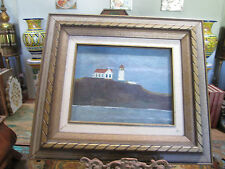 Robert Davey Primitive Oil Painting on Board