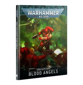 Warhammer 40k Blood Angels Codex Supplement 9th Edition -->NEW in Shrinkwrap<--