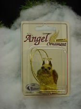 Brussels Griffon red dog Angel Ornament Hand Painted resin Figurine Christmas