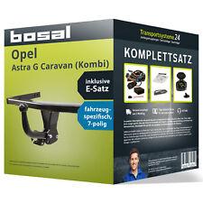 Anhängerkupplung BOSAL starr OPEL Astra G Caravan (Kombi) +Elektrosatz NEU kpl.