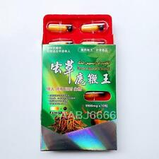 Natural Herbal ENHANCER Plateau Snow ChongCao Male Sex Pill 10+10Pills/1Box m4